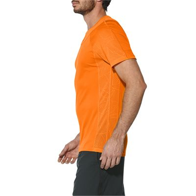 Asics Athlete Cooling Mens Tennis T-Shirt - Side