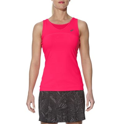 Asics Athlete Ladies Tennis Tank Top-pink-main