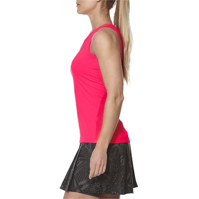 Asics Athlete Ladies Tennis Tank Top-pink-side