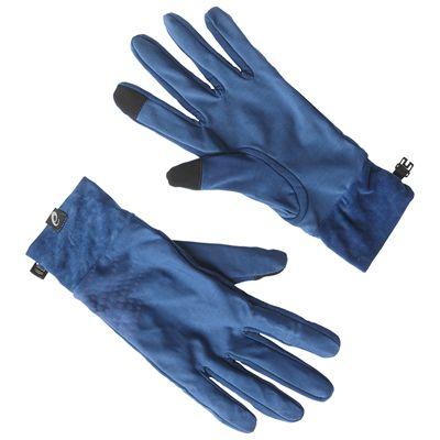 Asics Basic Performance Running Gloves-Blue