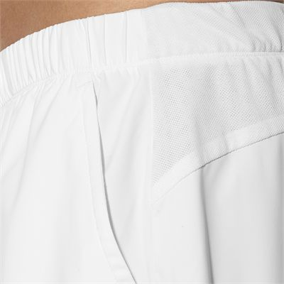 Asics Club 7 Inches Mens Tennis Shorts-white-close