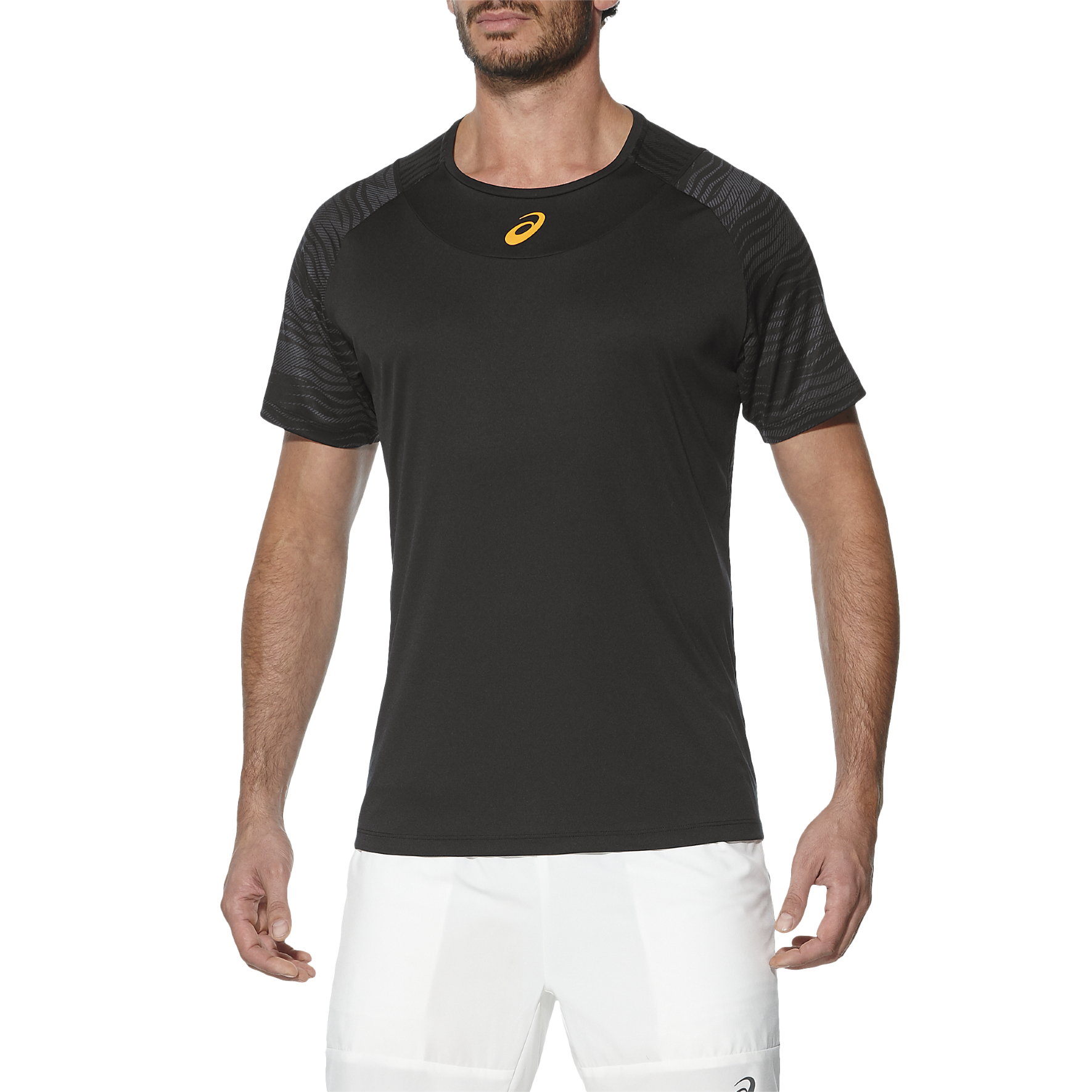 Asics Club GPX Mens Tennis TShirt  Black XXL