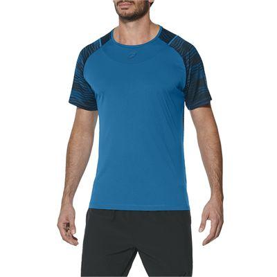 Asics Club GPX Mens Tennis T-Shirt-blue-main