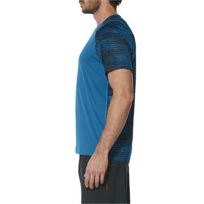 Asics Club GPX Mens Tennis T-Shirt-blue-side