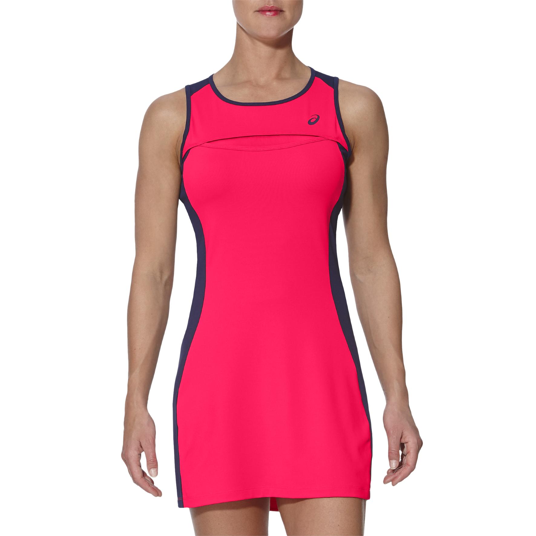 Asics Club Ladies Tennis Dress  Pink XS