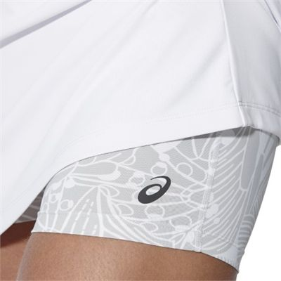 Asics Club Ladies Tennis Dress-white-close