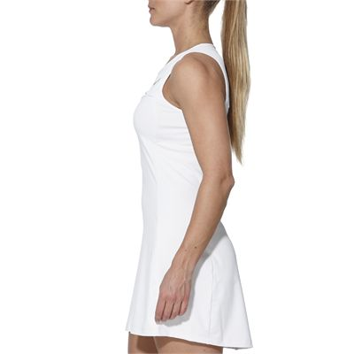 Asics Club Ladies Tennis Dress-white-side