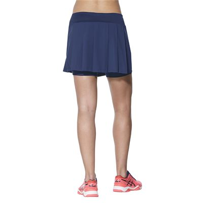 Asics Club Ladies Tennis Skort-blue-back