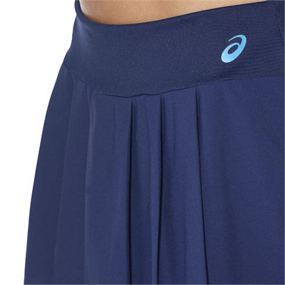 Asics Club Ladies Tennis Skort-blue-close