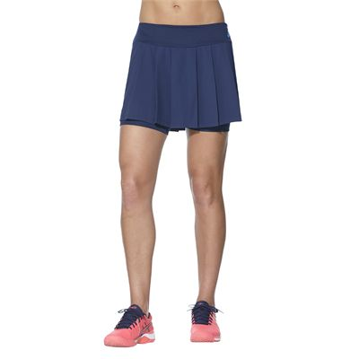 Asics Club Ladies Tennis Skort-blue-main