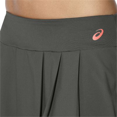 Asics Club Ladies Tennis Skort-grey-close