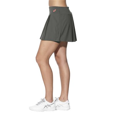 Asics Club Ladies Tennis Skort-grey-side