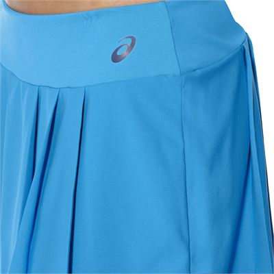 Asics Club Ladies Tennis Skort-light-blue-close