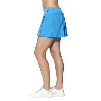 Asics Club Ladies Tennis Skort-light-blue-side