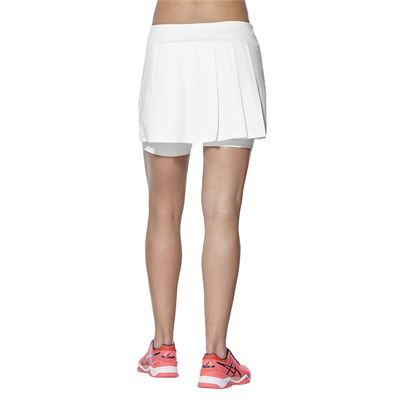 Asics Club Ladies Tennis Skort-white-back
