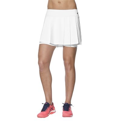 Asics Club Ladies Tennis Skort-white-main