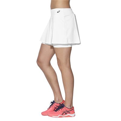 Asics Club Ladies Tennis Skort-white-side