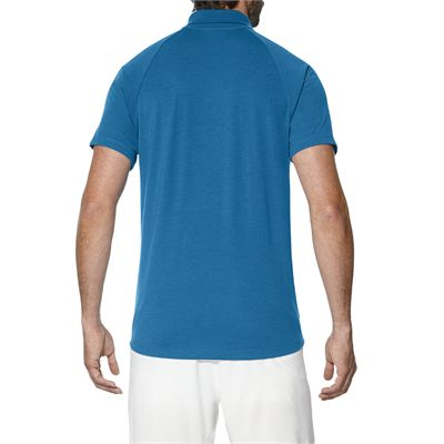 Asics Club Mens Tennis Polo-light-blue-back