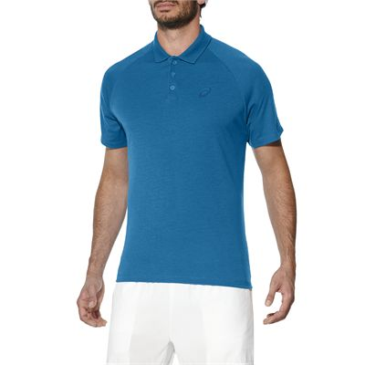 Asics Club Mens Tennis Polo-light-blue-main