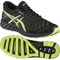 Asics FuzeX Lyte Mens Running Shoes-Black-Lime