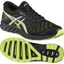 Asics FuzeX Lyte Mens Running Shoes-Black-Lime