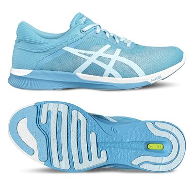 Asics FuzeX Rush Ladies Running Shoes - Blue