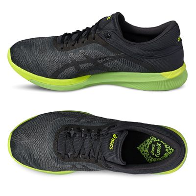 Asics FuzeX Rush Mens Running Shoes - Side, Top