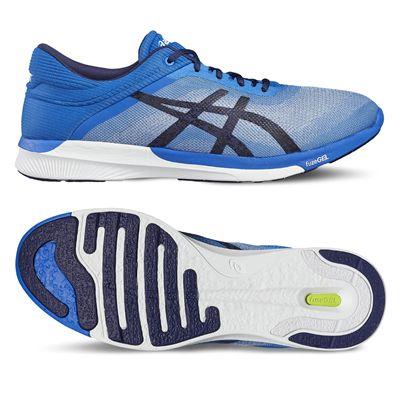 Asics FuzeX Rush Mens Running Shoes - Blue