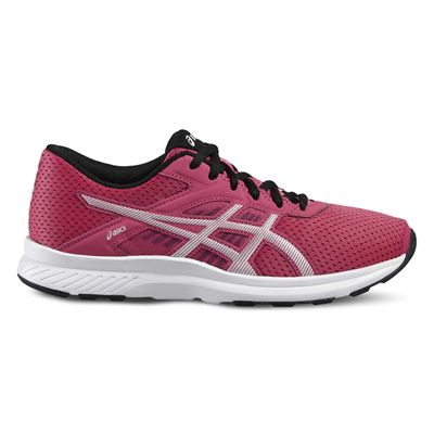 Asics Fuzor Ladies Running Shoes AW16 - Pink - Left Side