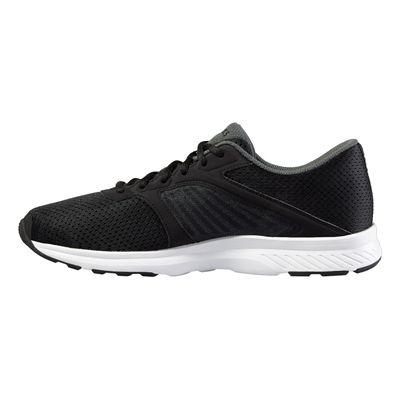 Asics Fuzor Mens Running Shoes-Black-White-Medial