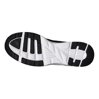 Asics Fuzor Mens Running Shoes-Black-White-Sole