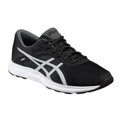 Asics Fuzor Mens Running Shoes-Black-White-Standalone