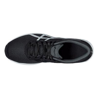 Asics Fuzor Mens Running Shoes-Black-White-Top