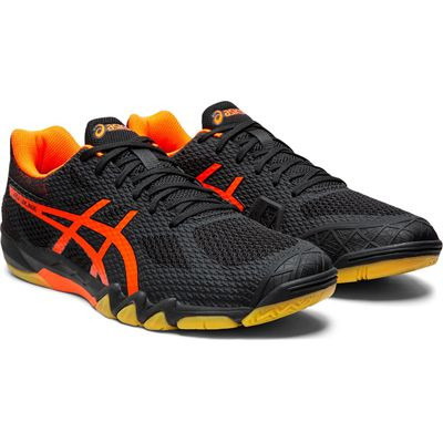 Asics Gel-Blade 7 Mens Indoor Court Shoes - Angled