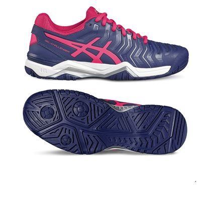 Asics Gel-Challenger 11 Ladies Tennis Shoes-pink-main