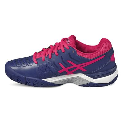 Asics Gel-Challenger 11 Ladies Tennis Shoes-pink-side