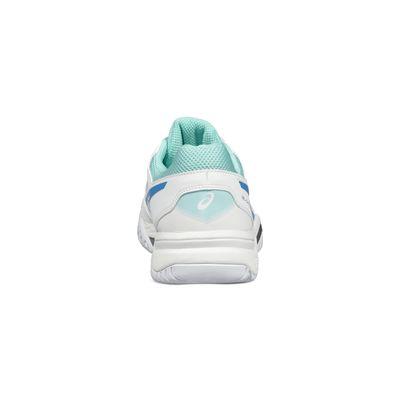 Asics Gel-Challenger 11 Ladies Tennis Shoes-white-heel