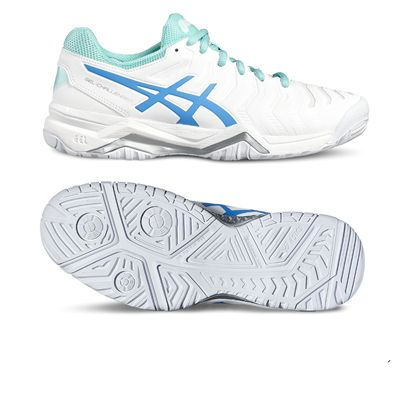 Asics Gel-Challenger 11 Ladies Tennis Shoes-white-main