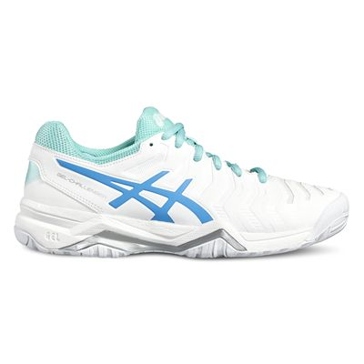 Asics Gel-Challenger 11 Ladies Tennis Shoes-white-side2