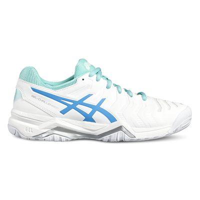 Asics Gel-Challenger 11 Ladies Tennis Shoes-white-side2