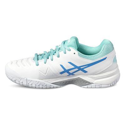 Asics Gel-Challenger 11 Ladies Tennis Shoes-white-side