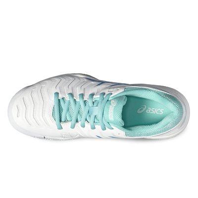 Asics Gel-Challenger 11 Ladies Tennis Shoes-white-top