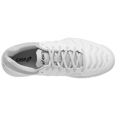 Asics Gel-Challenger 11 Mens Tennis Shoes - White/Silver - Top