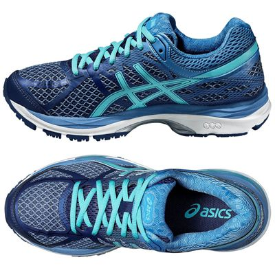 Asics Gel-Cumulus 17 Ladies Running Shoes - Side/Top
