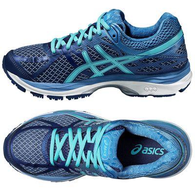 Asics Gel-Cumulus 17 Ladies Running Shoes - Side/Top