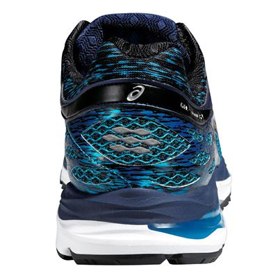 Asics Gel-Cumulus 17 Mens Running Shoes - Blue/Black- Back