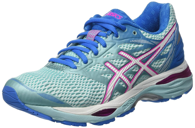 Asics GelCumulus 18 Ladies Running Shoes  Mint 6.5 UK
