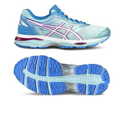 Asics Gel-Cumulus 18 Ladies Running Shoes-blue-main