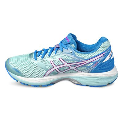 Asics Gel-Cumulus 18 Ladies Running Shoes-blue-side2