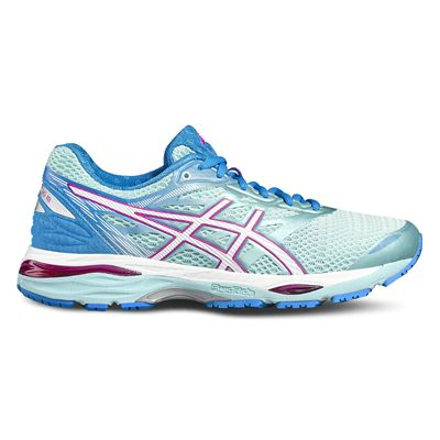 Asics Gel-Cumulus 18 Ladies Running Shoes-blue-side
